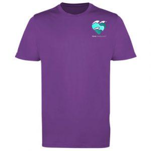 Men's t-shirt magenta magic small logo